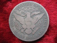 1894 P BARBER SILVER HALF DOLLAR SOME DETAIL NOT TO MUCH WEAR TOUGH DATE