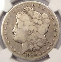 1879 CC MORGAN SILVER DOLLAR $1   NGC G6    CERTIFIED CARSON CITY COIN