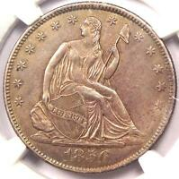 1856 O SEATED LIBERTY HALF DOLLAR 50C   NGC UNCIRCULATED    MS BU UNC COIN