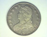 1826 CAPPED BUST SILVER HALF DOLLAR O104 CHOICE ABOUT UNCIRCULATED  336379 OOH