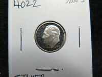 2004 S 10C SILVER ROOSEVELT DIME. PROOF SILVER DIME. COIN STORE SALE4022