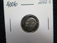 2002 S 10C SILVER ROOSEVELT PROOF DIME. NICE SILVER PROOF. STORE SALE4006