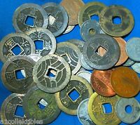 35X OLD COINS JAPAN 1700S THROUGH 1900S AVARAGE ONLY $2.50  PER COIN AD 589