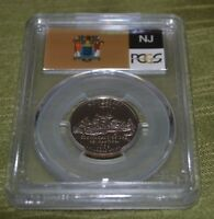 1999 S PROOF NEW JERSEY STATE QUARTER PCGS GRADED COIN PR69 DCAM N236