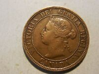 1897 CANADIAN LARGE CENT. VF CONDITION. NICE COIN.  BUT YOU DECIDE