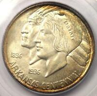 1935 ARKANSAS HALF DOLLAR 50C   PCGS MS66    IN MS66 GRADE   $600 VALUE