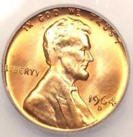1964 D LINCOLN MEMORIAL CENT PENNY 1C   CERTIFIED ICG MS67 RD    IN MS67