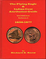 FLYING EAGLE & INDIAN CENT ATTRIBUTION GUIDE 3RD ED 2 VOLUMES 1856 1909 FREESHIP