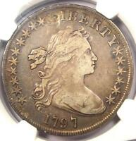 1797 DRAPED BUST SILVER DOLLAR $1   NGC VF DETAILS    SMALL EAGLE COIN