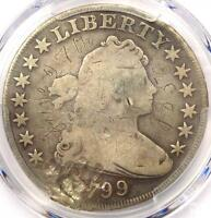 1799 DRAPED BUST SILVER DOLLAR $1   CERTIFIED PCGS VG DETAILS    COIN