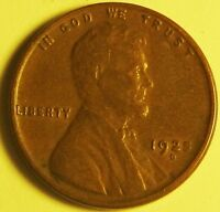 1925 D  LINCOLN WHEAT CENT,   CENT,  AD-9