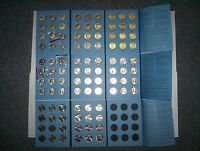 COMPLETE SET KENNEDY HALF DOLLAR COINS 1964   2015 INCLUDING 3 ALBUMS AND 1970D