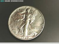 1940 S BETTER GRADE MS SILVER WALKING HALF DOLLAR 50 CENT COIN