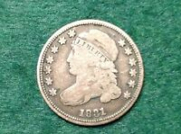 1831 CAPPED BUST DIME     AND BEAUTIFUL COIN