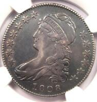 1808 CAPPED BUST HALF DOLLAR 50C O 106   NGC XF40 EF40    CERTIFIED COIN
