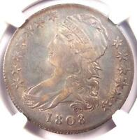 1808 CAPPED BUST HALF DOLLAR 50C O 103   NGC XF DETAILS EF    COIN