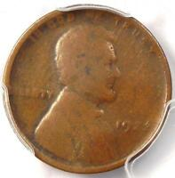 1922 NO D STRONG REVERSE LINCOLN WHEAT CENT 1C   PCGS VG10