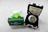 2014 ROYAL CANADIAN MINT   $0.25 COIN: FIFA WORLD CUP 2014