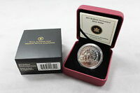 2013 RCM   BU SILVER $1 COIN: 100TH ANNIVERSARY OF CANADIAN ARCTIC EXHIBITION