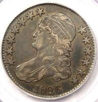 1826 CAPPED BUST HALF DOLLAR 50C O 116A   PCGS XF40 EF40    CERTIFIED COIN