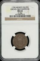 MEDALS & TOKENS 1790 NGC MS64 GROVE C 44 33280