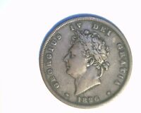 1826  GREAT BRITAIN ONE PENNY HIGH GRADE CIRCULATED COPPER UK 306