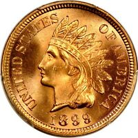 1899 1C INDIAN CENT PCGS MS65RD PHOTO SEAL $834