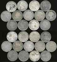 CANADA 1888 SILVER 5 CENTS 13 PC. LOT