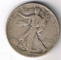 1940 S WALKING LIBERTY HALF DOLLAR 50 CENTS SILVER COIN 1/2 $1 NICE FIFTY CENT