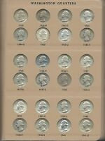 WASHINGTON QUARTER COLLECTION 1932 TO 1998 COMPLETE. 90 UNCIRCULATED FREE SHIP