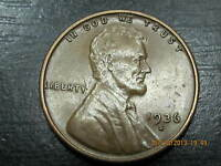 1936 S LINCOLN WHEAT CENT    NICER SOLID ALBUM HOLE FILLER COIN    X F