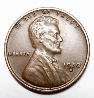 1930 S LINCOLN WHEAT CENT H17