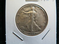 1940-S 50C WALKING LIBERTY HALF DOLLAR - FINE CIRCULATED COIN - STORE SALE 6061