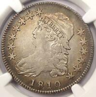 1810 CAPPED BUST HALF DOLLAR 50C O 101A   NGC VF DETAILS    CERTIFIED COIN