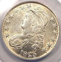 1825 CAPPED BUST HALF DOLLAR 50C O 101. ANACS AU50 DETAILS    CERTIFIED COIN