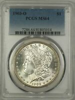 1903-O MORGAN SILVER DOLLAR $1 PCGS MINT STATE 64 BETTER COIN 14