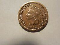 1884 INDIAN HEAD PENNY/CENT  VG  CONDITION. BUT YOU DECIDE