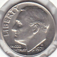 1971 D ROOSEVELT DIME UNCIRCULATED UNCERTIFIED