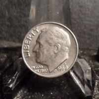 UNCIRCULATED 1969D  FDR DIME COIN 930161