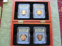 2007-S 4 PC. PRESIDENTIAL DOLLAR SET ICG-PR70 DCAM - A FIRST STRIKE COIN