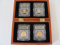 2007-S FOUR COIN PRESIDENTIAL SET ICG-PR70 DCAM - A FIRST STRIKE COIN