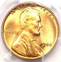 1944 LINCOLN WHEAT CENT 1C PENNY   PCGS MS67 RD PLUS GRADE   $1,250 VALUE