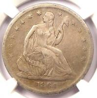 1864 S SEATED LIBERTY HALF DOLLAR 50C   CERTIFIED NGC VF30    CIVIL WAR COIN