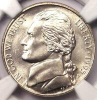 1995 P JEFFERSON NICKEL 5C   NGC MS67 6FS    FULL STEPS GEM   $400 VALUE