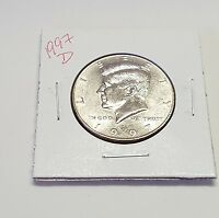 1997 D  KENNEDY HALF DOLLAR   UNCIRCULATED