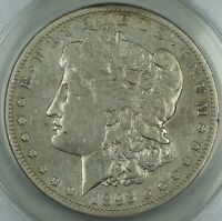 1893-S MORGAN SILVER DOLLAR COIN, ANACS VF-25, DETAILS, CLEANED KEY DATE