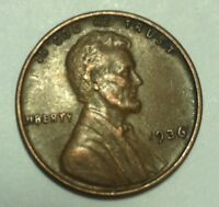 1936 P LINCOLN CENT IN
