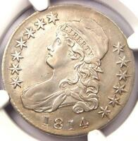 1814 BUST HALF DOLLAR 50C O 102A   NGC AU DETAILS    DATE   CERTIFIED COIN