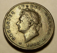 GREAT BRITAIN   1826 1 PENNY   KM693   KING GEORGE IV   VF CONDITION