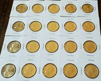 2003 P UNCIRCULATED GOLDEN SACAGAWEA 20 COIN SET FROM US MINT ROLLS